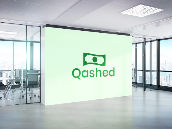 Sample branding #2 for Qashed