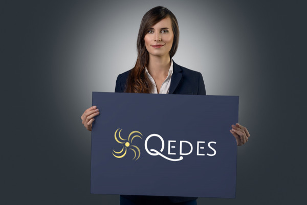 Sample branding #3 for Qedes