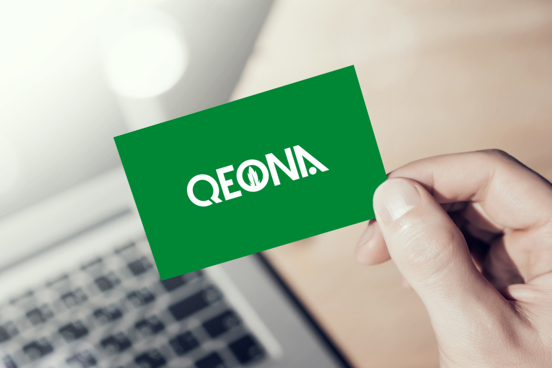 Sample branding #1 for Qeona