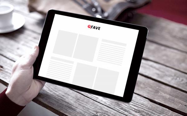 Sample branding #1 for Qfave