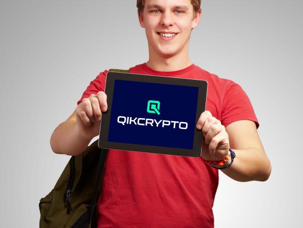 Sample branding #3 for Qikcrypto
