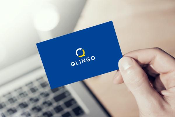 Sample branding #3 for Qlingo