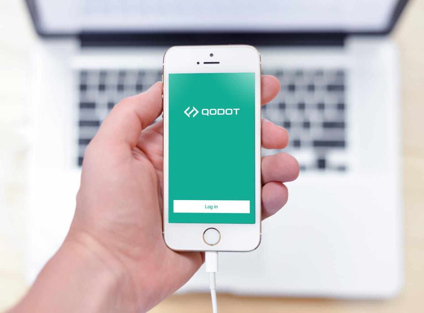 Sample branding #1 for Qodot