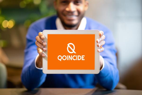 Sample branding #1 for Qoincide