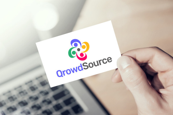 Sample branding #2 for Qrowdsource