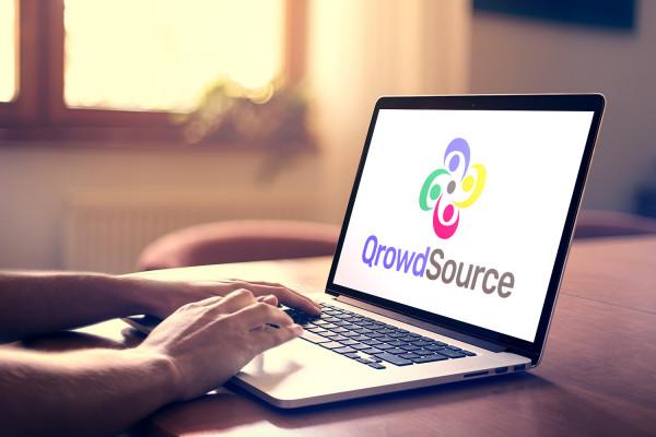 Sample branding #1 for Qrowdsource