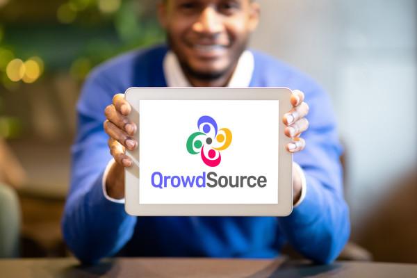 Sample branding #3 for Qrowdsource