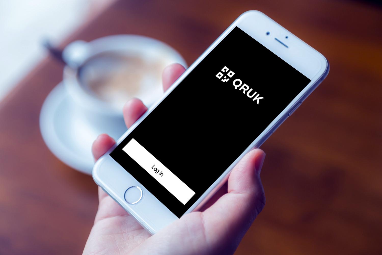 Sample branding #1 for Qruk
