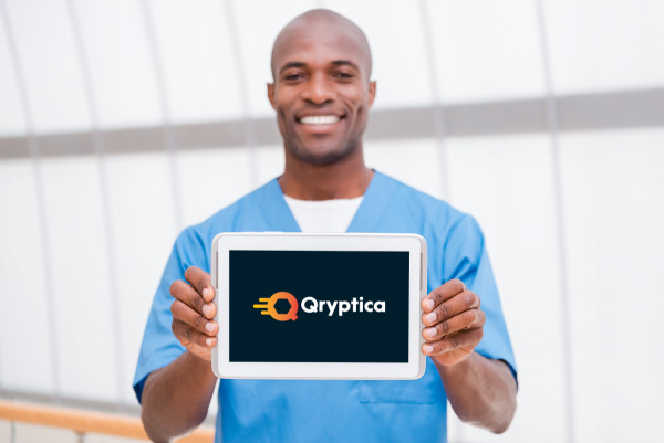 Sample branding #2 for Qryptica