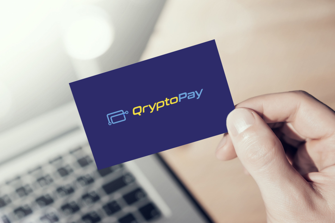 Sample branding #1 for Qryptopay