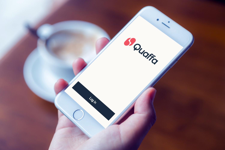 Sample branding #1 for Quaffa