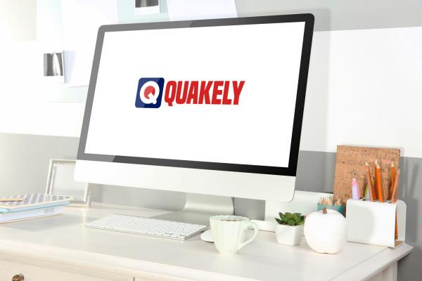 Sample branding #1 for Quakely