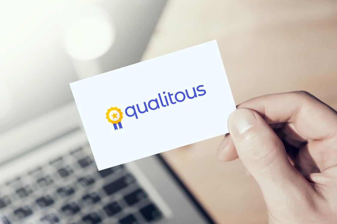 Sample branding #1 for Qualitous