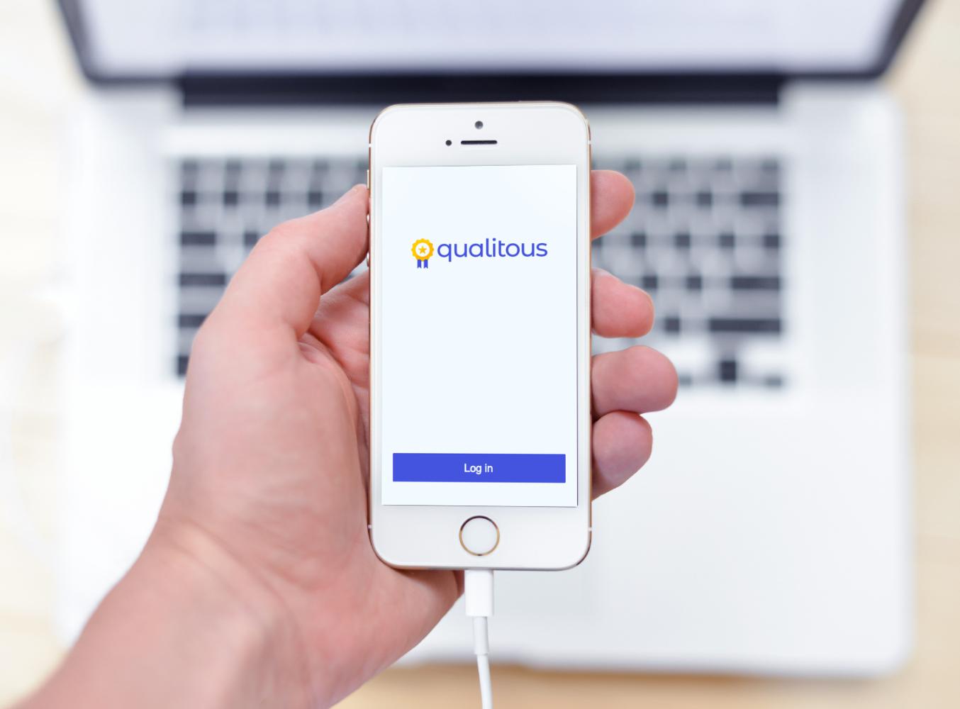 Sample branding #2 for Qualitous