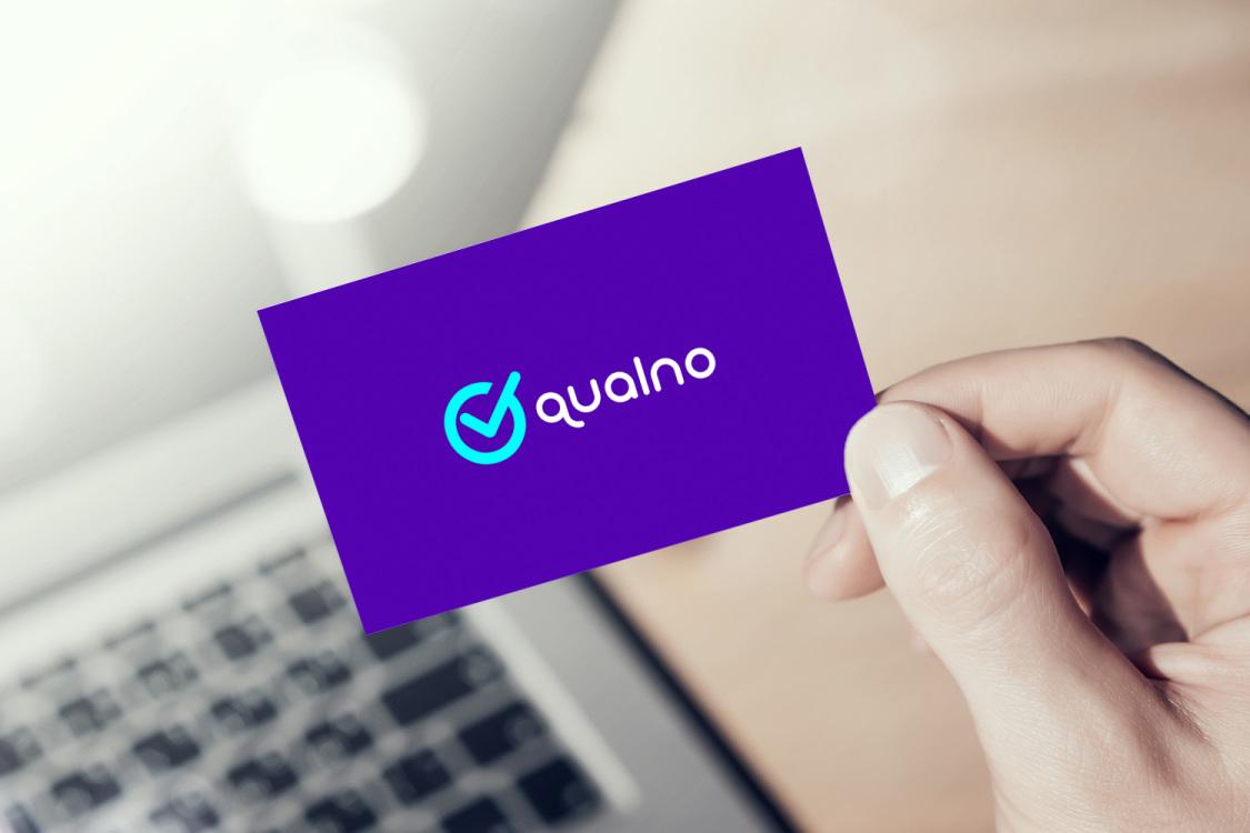 Sample branding #2 for Qualno