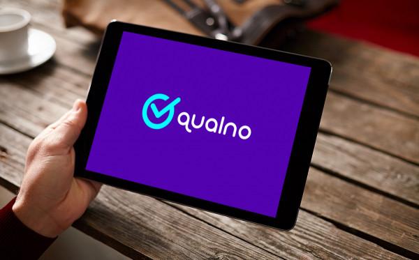 Sample branding #1 for Qualno