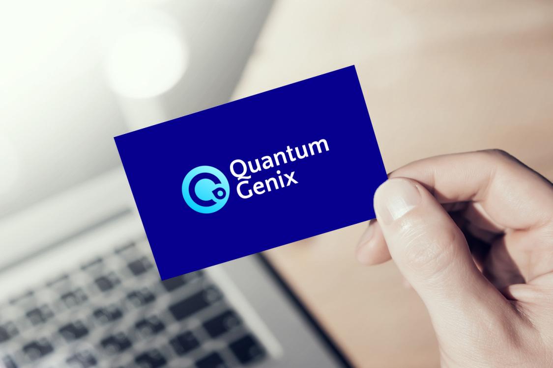Sample branding #2 for Quantumgenix