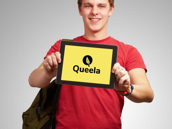 Sample branding #2 for Queela