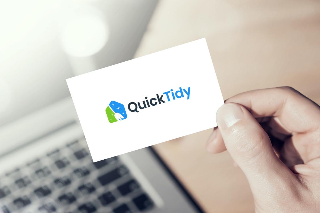 Sample branding #1 for Quicktidy
