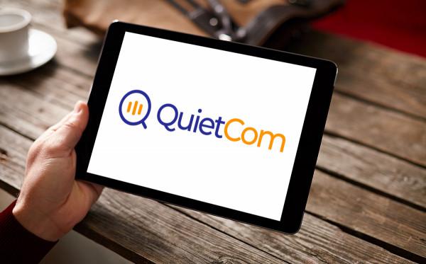 Sample branding #2 for Quietcom