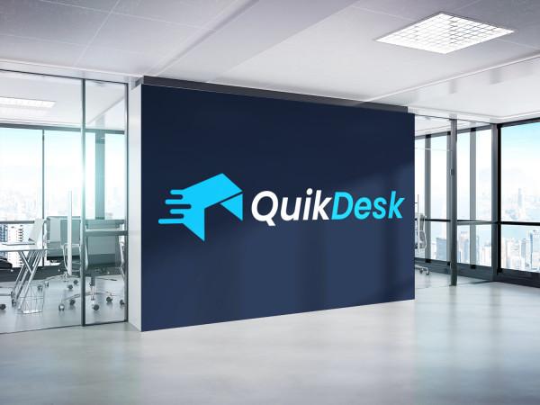Sample branding #3 for Quikdesk