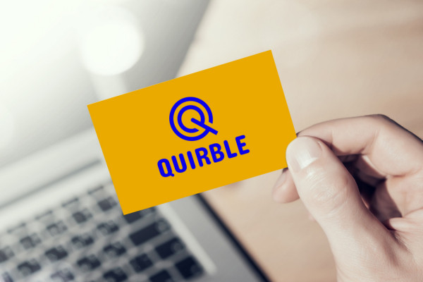 Sample branding #2 for Quirble