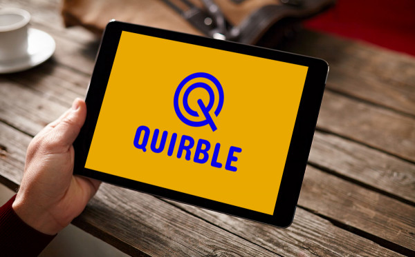 Sample branding #1 for Quirble