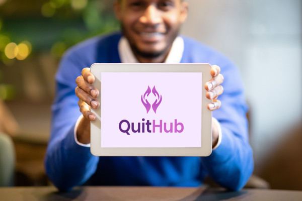 Sample branding #2 for Quithub