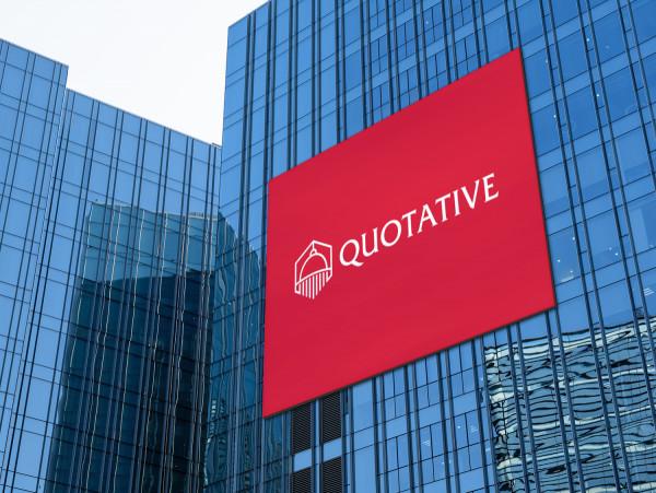 Sample branding #3 for Quotative