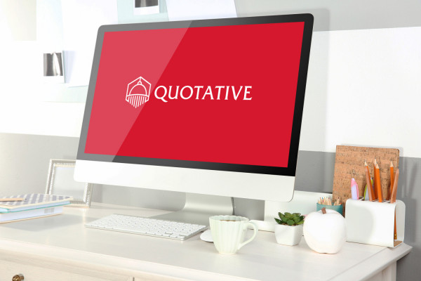 Sample branding #2 for Quotative