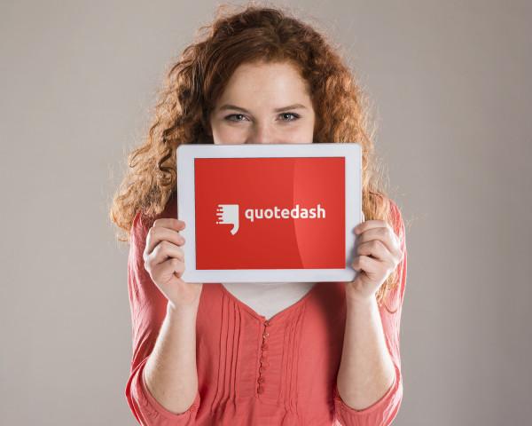 Sample branding #1 for Quotedash