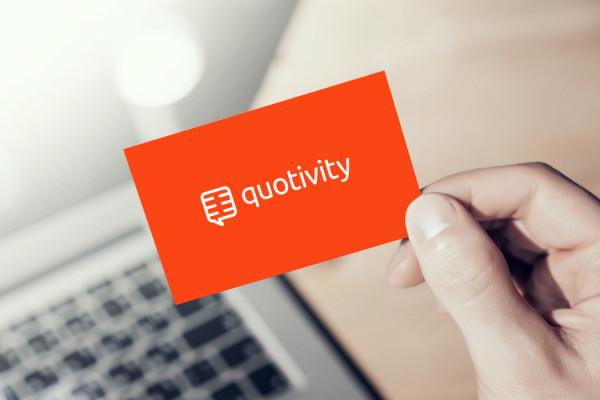 Sample branding #1 for Quotivity
