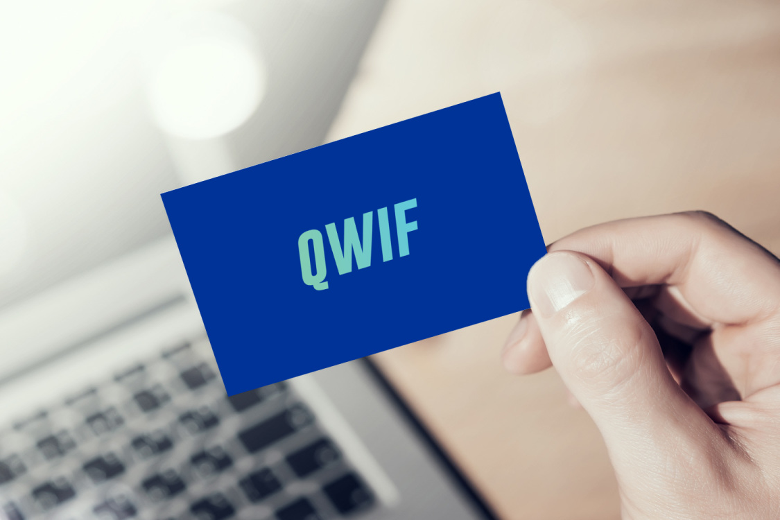Sample branding #1 for Qwif