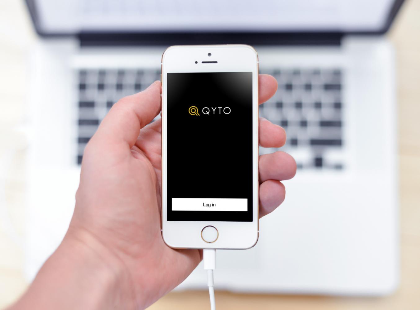 Sample branding #2 for Qyto