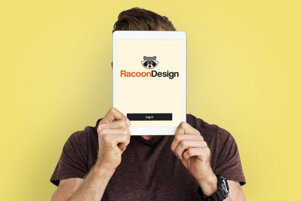 Sample branding #2 for Racoondesign