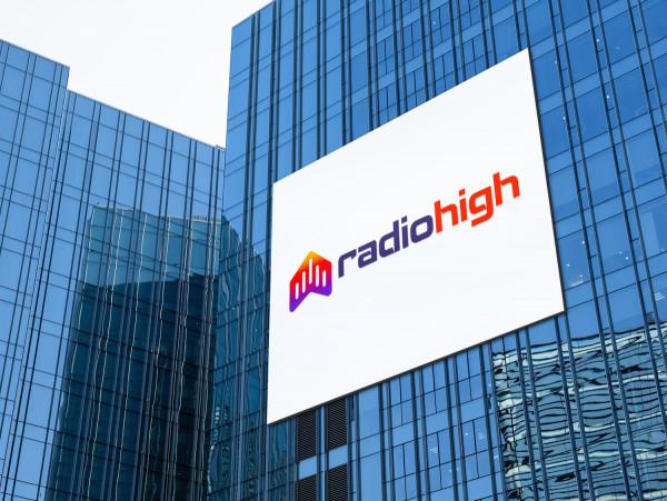 Sample branding #1 for Radiohigh