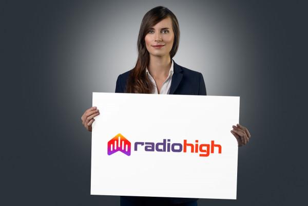 Sample branding #2 for Radiohigh