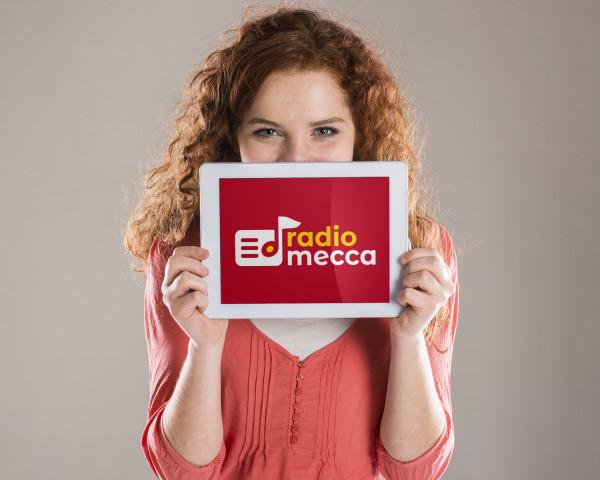 Sample branding #2 for Radiomecca