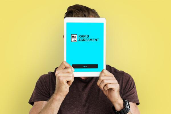 Sample branding #1 for Rapidagreement