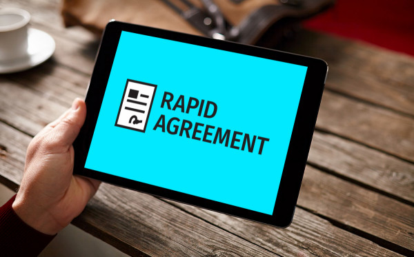 Sample branding #3 for Rapidagreement