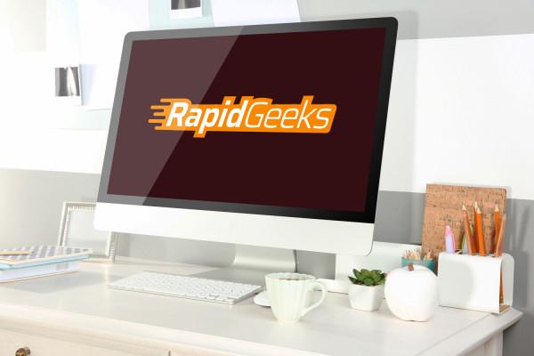 Sample branding #1 for Rapidgeeks