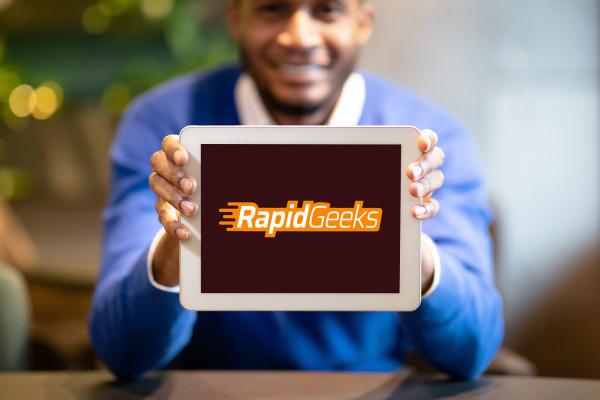 Sample branding #2 for Rapidgeeks