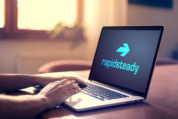 Sample branding #1 for Rapidsteady