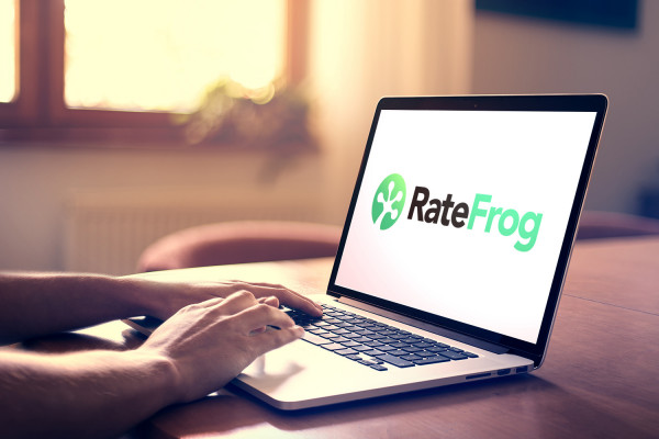 Sample branding #3 for Ratefrog