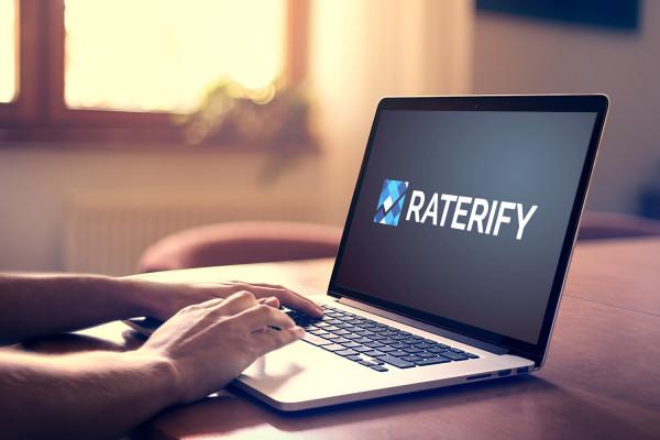 Sample branding #3 for Raterify