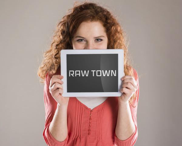 Sample branding #3 for Rawtown
