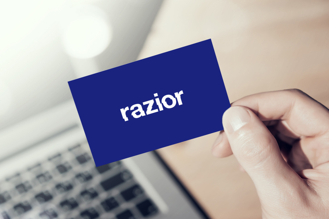 Sample branding #2 for Razior