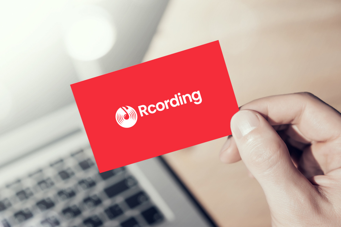 Sample branding #2 for Rcording