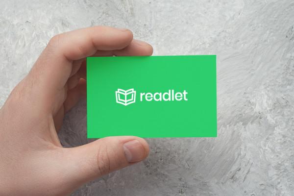 Sample branding #2 for Readlet