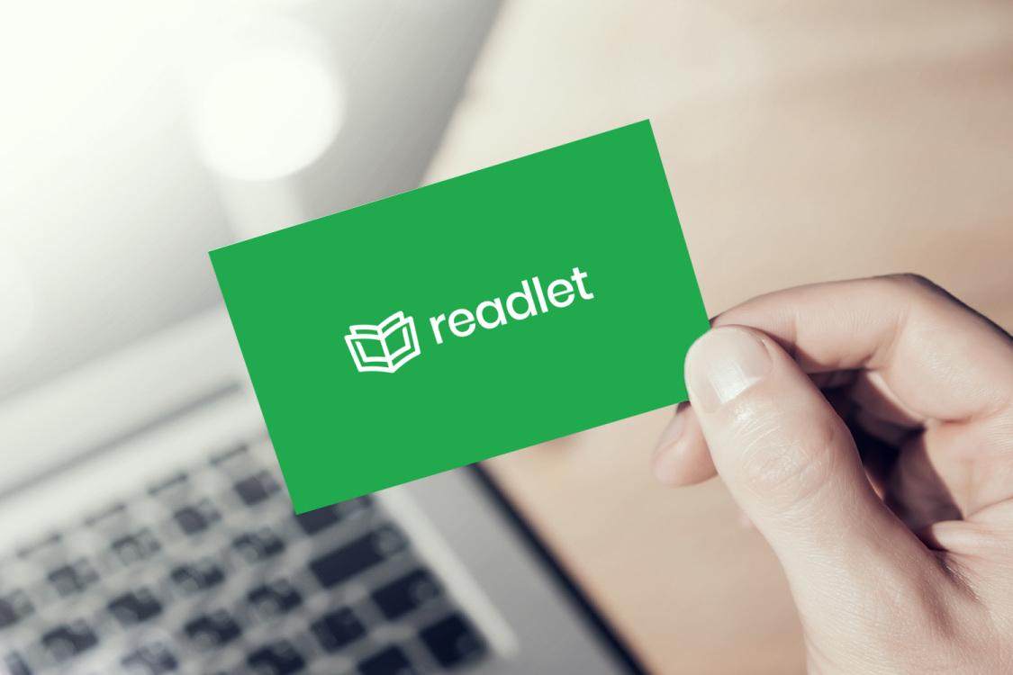 Sample branding #3 for Readlet